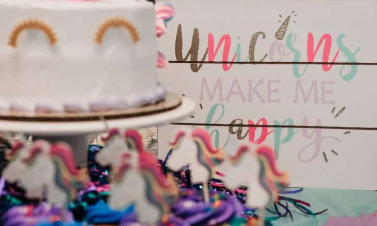 Cutest Unicorn Party Favors for Baby Showers