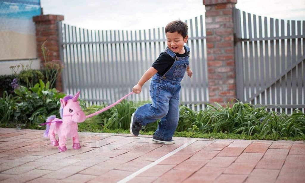 Walking Unicorn Toy with Leash