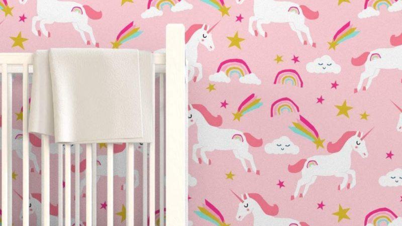 Girly Wallpaper With Unicorns