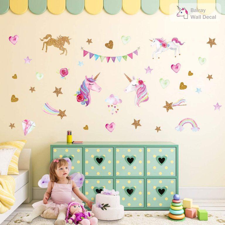 Unicorn Decals For Bedroom