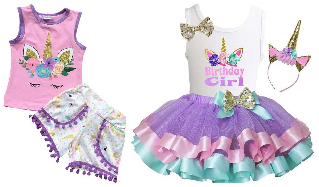 amazon unicorn birthday outfit