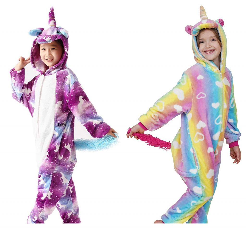 unicorn onesie with bum flap