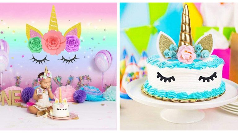 Eyelash Unicorn Party Supplies