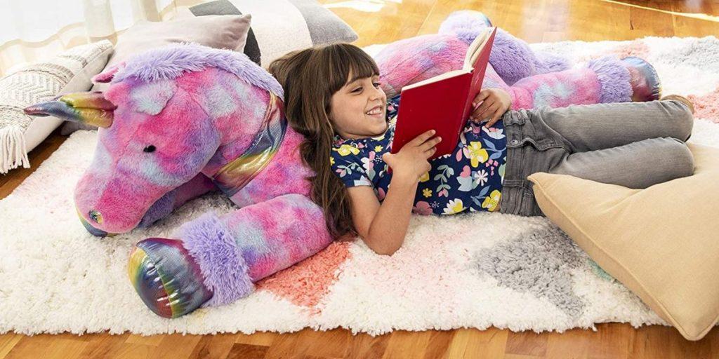 Big Fluffy Unicorn Toy
