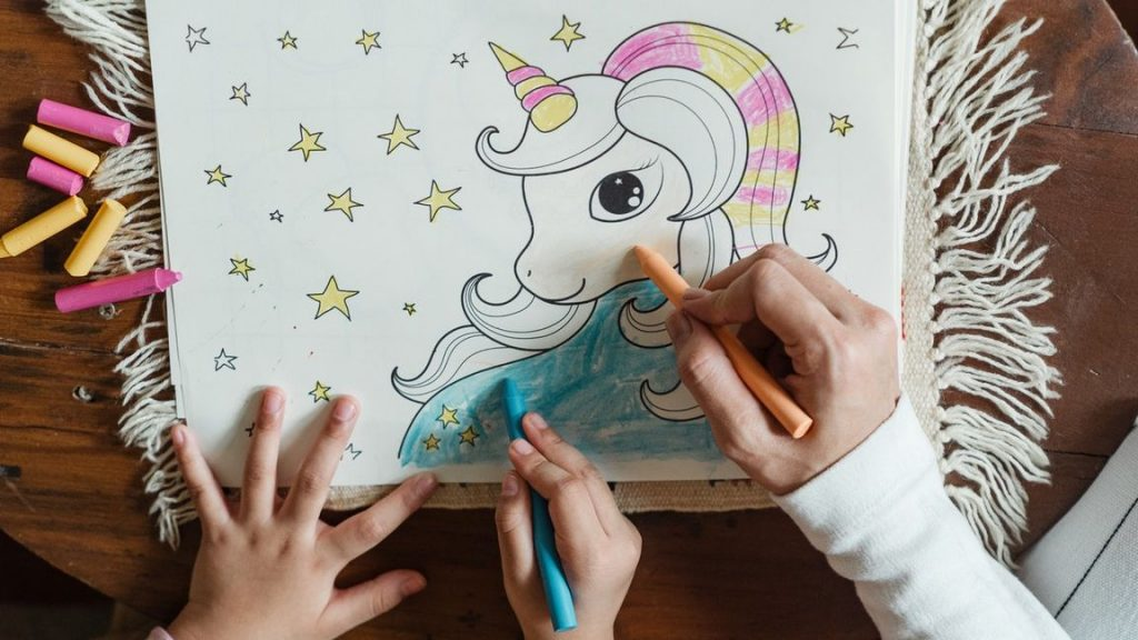 Unicorn Printing Pages
