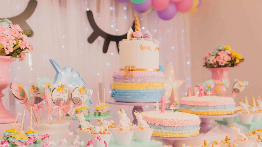 unicorn 2nd birthday party ideas