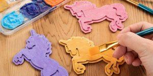 unicorn party favor bags diy